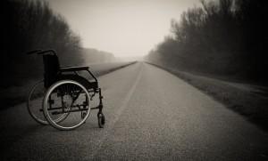 Wózek dla niepełnosprawnego
